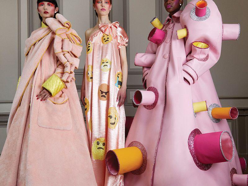 Viktor & Rolf offer COVID-inspired haute couture