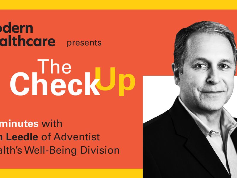The Review: Ben Leedle from Adventist Health's Division of Welfare