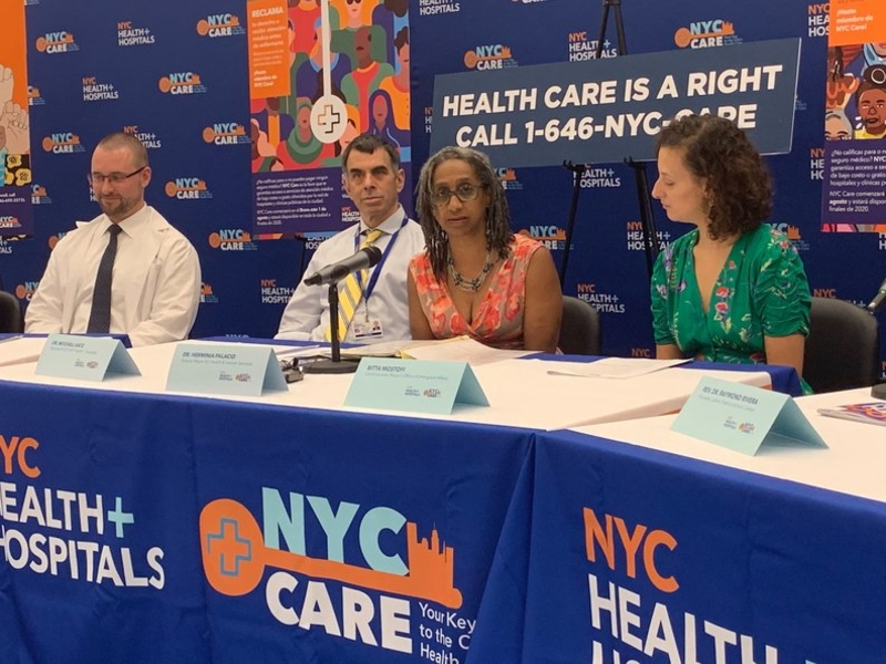 New York debuts NYC Care for the uninsured