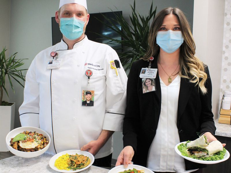 Giving patients a taste of home