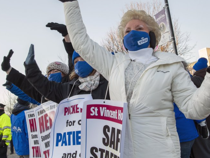 Latest effort to end nurses strike ends without a deal