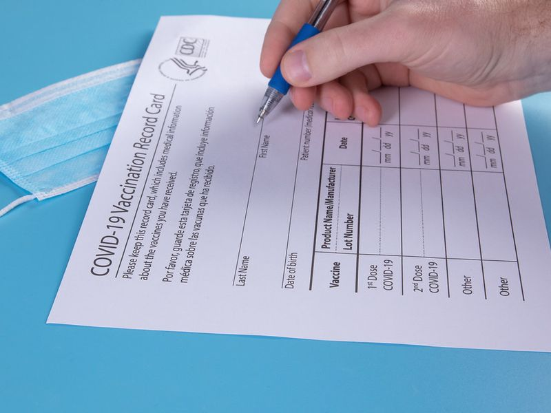 Fake COVID-19 Vaccination Cards Concern University Officials