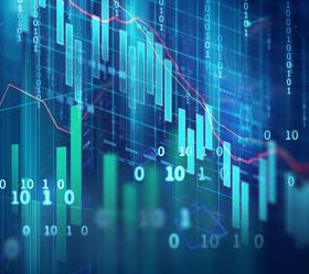 blockchain stock image
