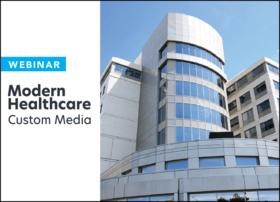 modern healthcare custom media webinar construction and design