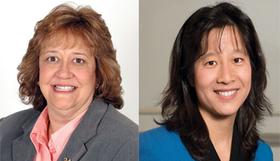 Drs. Roberta Gebhard and Eliza Lo Chin