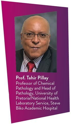 professor tahir pillay univants headshot