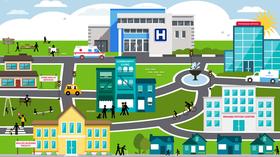 hospital stock image community