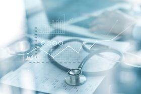 istock-stethoscope and data