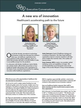 a new era of innovation executive conversation thumbnail image