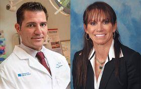 Dr. Randy Katz and Judy Frum