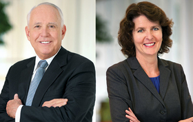 Dr.Darrell Kirch and Dr. Alison Whelan
