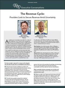 the revenue cycle executive conversation thumbnail image