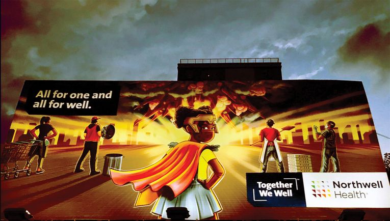 """The """"Together We Well"""" ads aimed to honor Northwell's relationship with New Yorkers during the pandemic."""