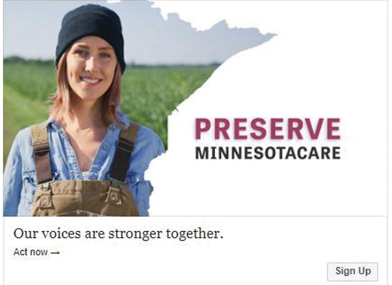 The Minnesota Hospital Association's provider tax campaign