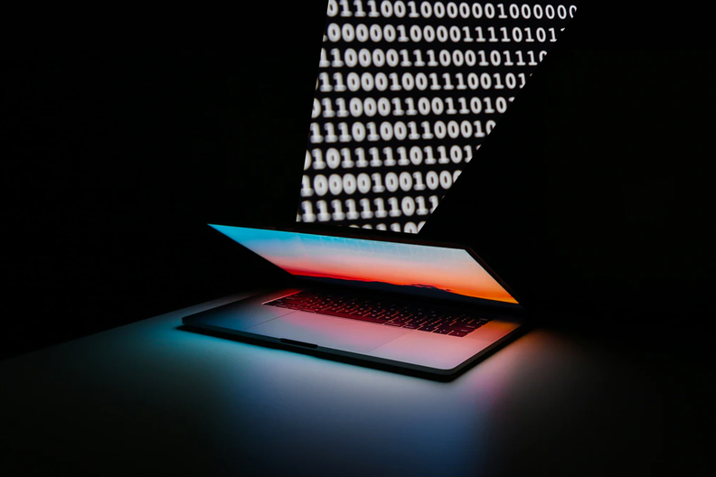 data and laptop