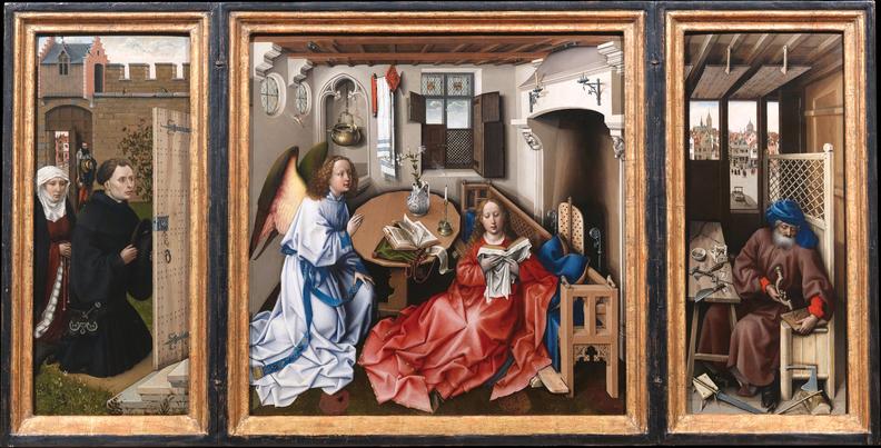 "The ""Annunciation Triptych"""