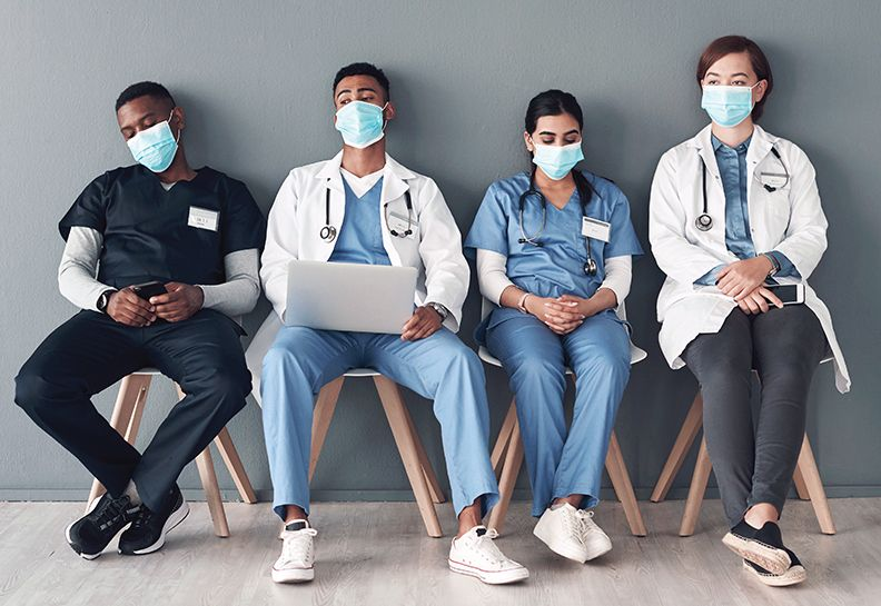 healthcare workers burnout