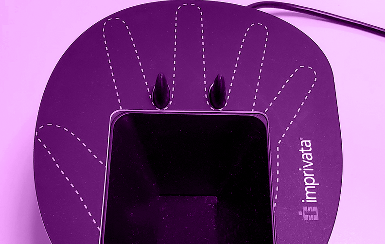 A palm scanner