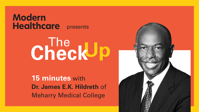 The Check Up: Dr. James E.K. Hildreth