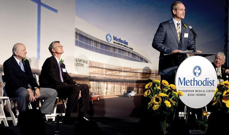 Regional News/South: Methodist Health breaks ground on new
