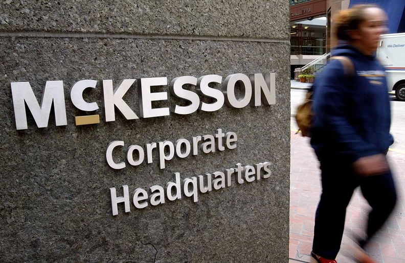 McKesson Corporate Headquarters sign