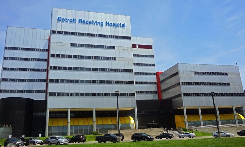 Inspectors return to DMC Detroit Receiving Hospital after