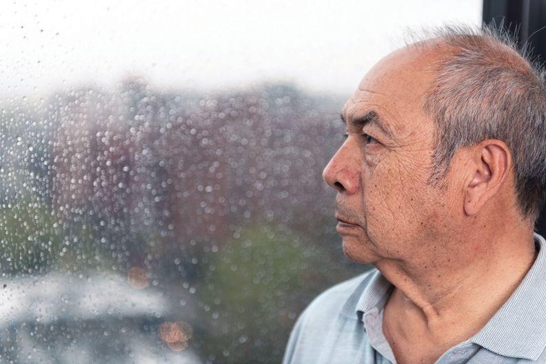 Rafael Ruiz standing near a window.