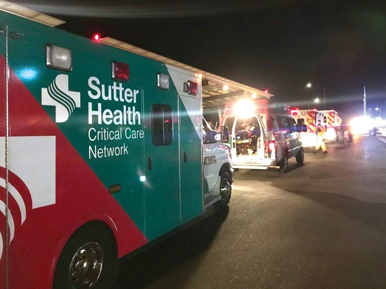 Sutter Health's Santa Rosa Regional Hospital evacuation