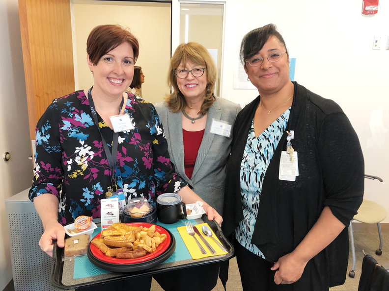 As part of the initiative, UNC Health Care switched dementia patients to finger food.