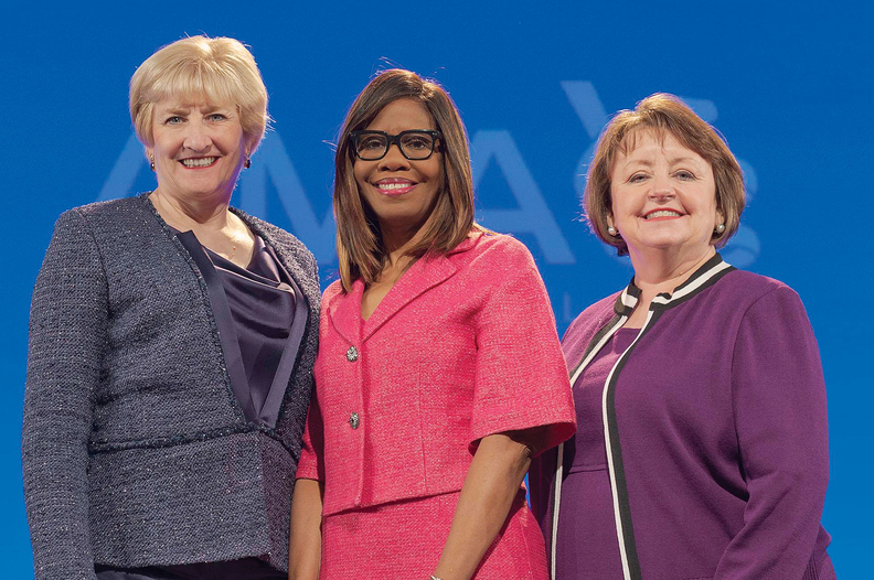 Drs. Barbara McAneny, Patrice Harris and Susan Bailey