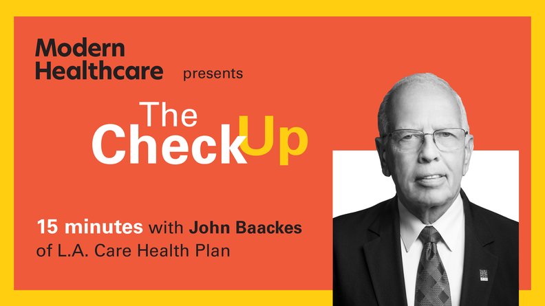 The Check Up: John Baackes