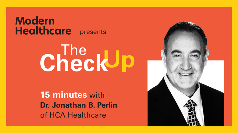 The Check Up: Dr. Jonathan Perlin