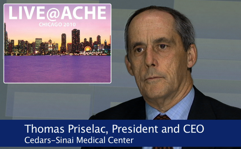 Video News: Cedars-Sinai's Priselac on patient safety