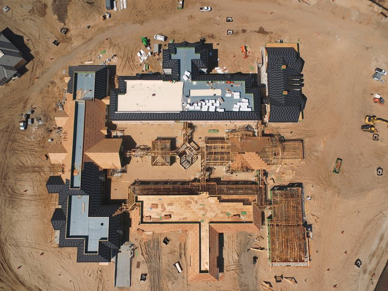 Wellbridge Addiction Treatment and Research construction site