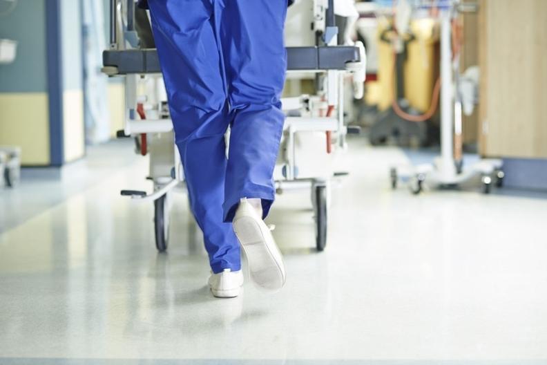 Doctor running