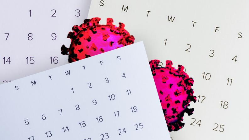 long COVID and calendar