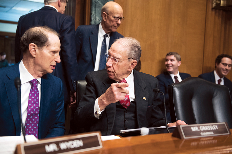 Chuck Grassley and Ron Wyden