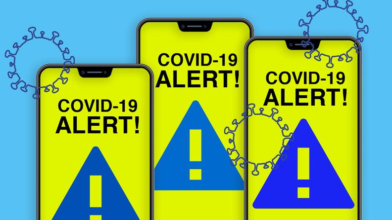 phone COVID-19 app