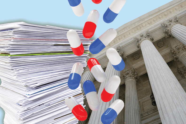 Pills and medical bills