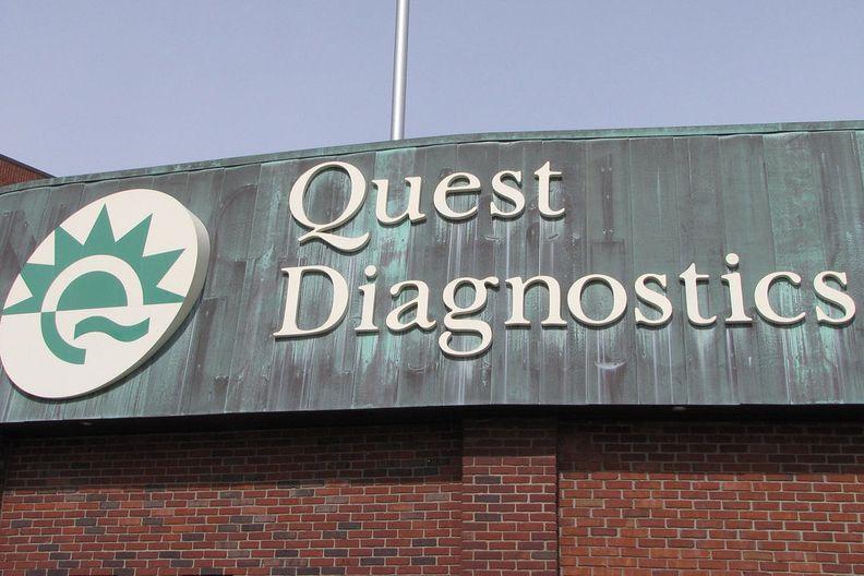 Quest Diagnostics sign