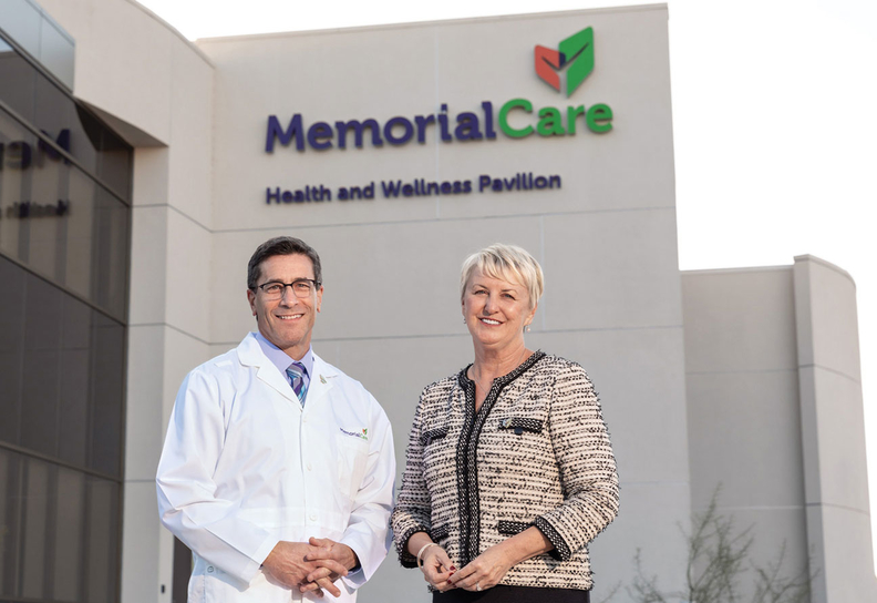 MemorialCare Chief Transformation Officer Helen Macfie and Chief Medical Officer James Leo