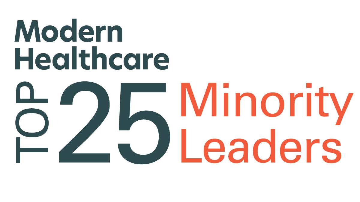 Modern Healthcare Top 25 Minority Leaders